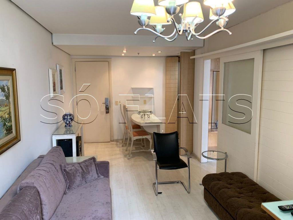Lindo flat em Moema, próximo as Avenidas Ibirapuera, Indianópolis e Rubem Berta