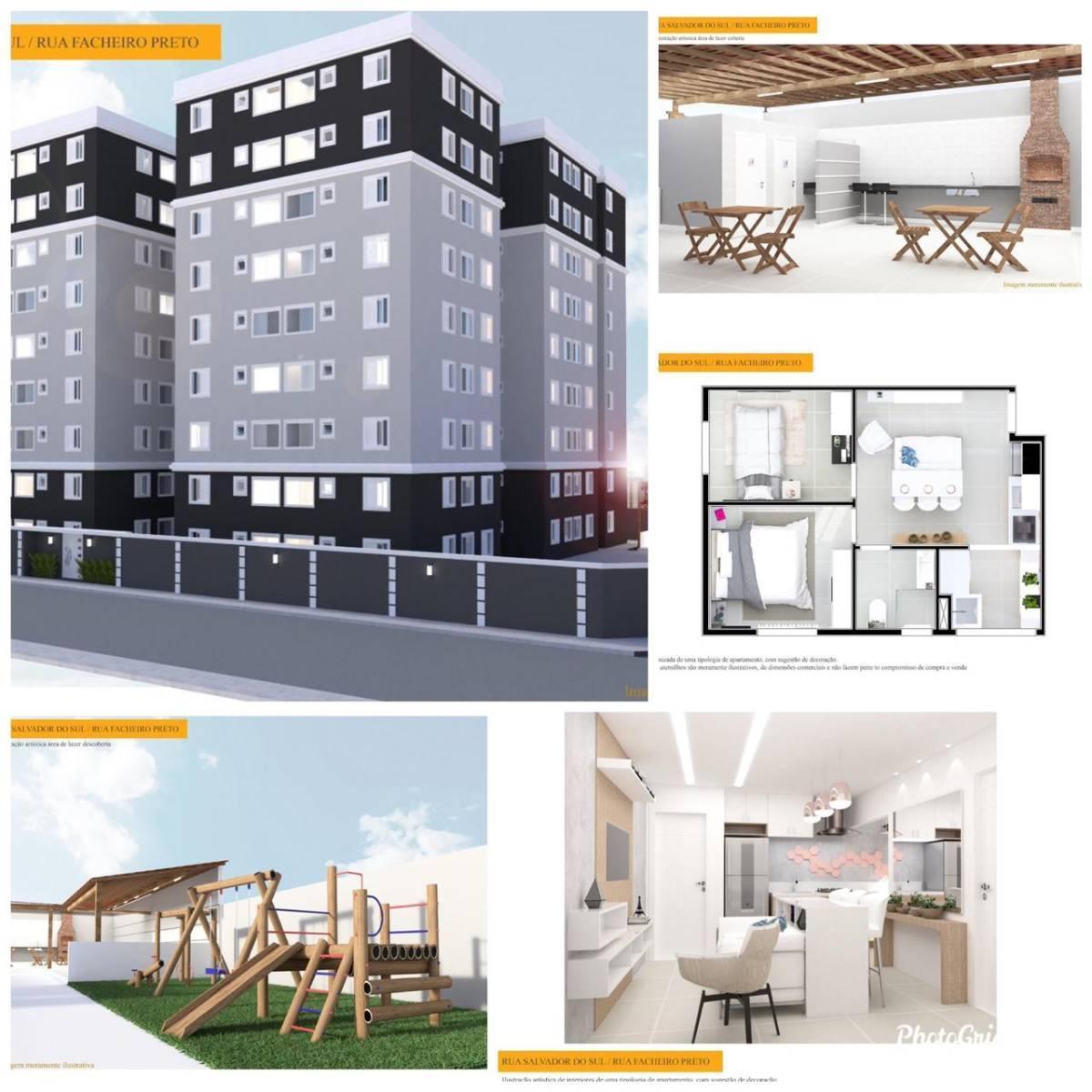Lançamento 2 dormitórios minha casa minha vida entrada a partir de mil reais