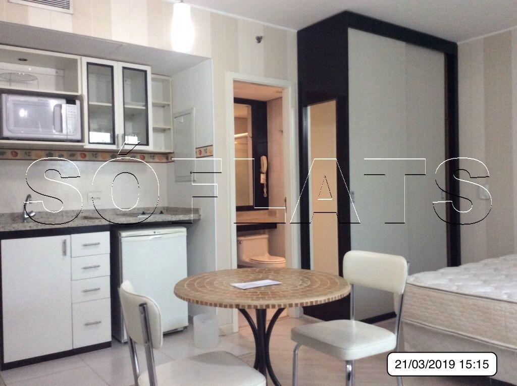 Apartamento lindo em Moema, com apoio de cozinha, próximo a Av. e Shopping Ibirapuera