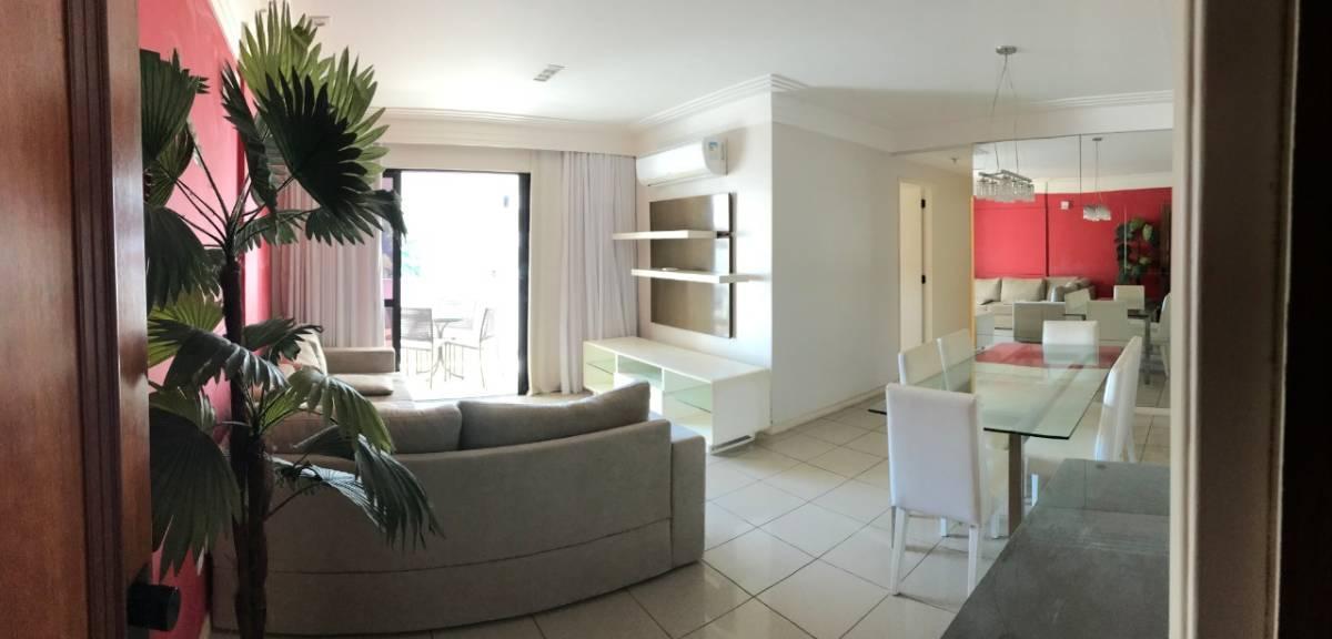 Apartamento com 03 quartos na Cidade Jardim - Semi-mobiliado.