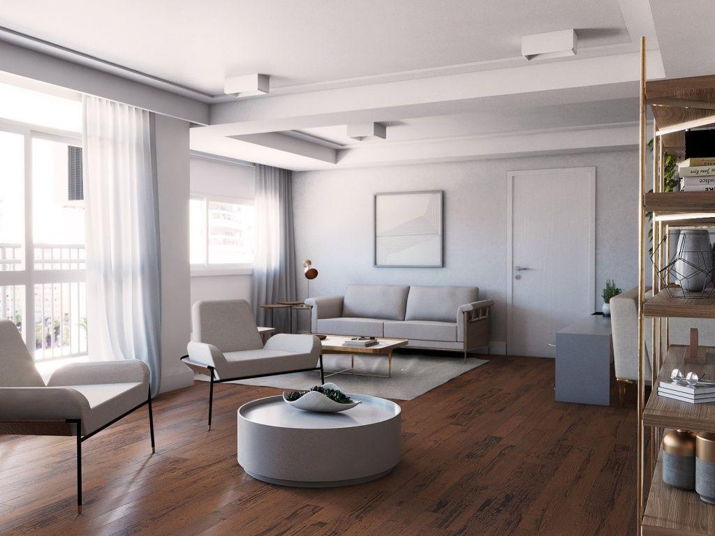 Apartamento alto padrão sem mobília, prox a Av. Sto Amaro e Helio Pellegrino