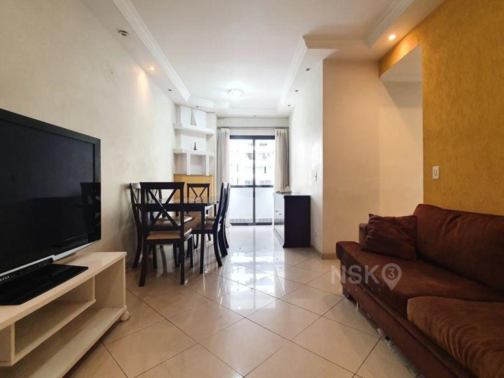 Apartamento 3 Dorm. (1 Suíte) -  61,88m² - 1 Vaga - Semi Mobiliado - Brooklin