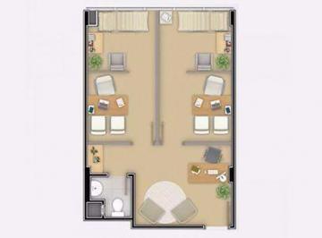 Apartamento · 90m² · 1 Quarto