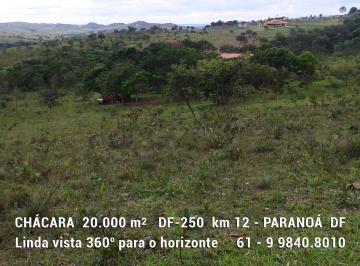 Rural de 1 quarto, Paranoá