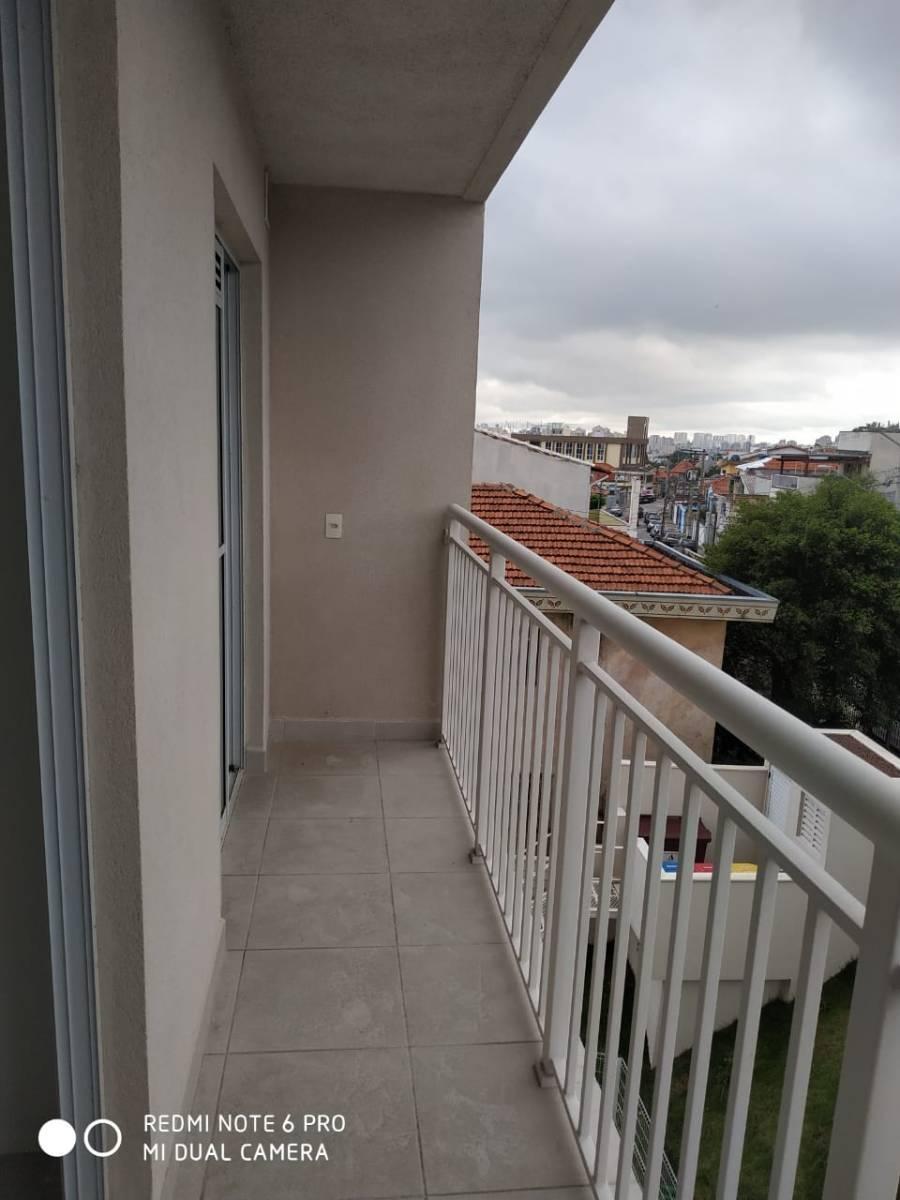 Apartamento de 1 quartos na Vila Alpina a 2 km do Metrô Oratório e São Lucas