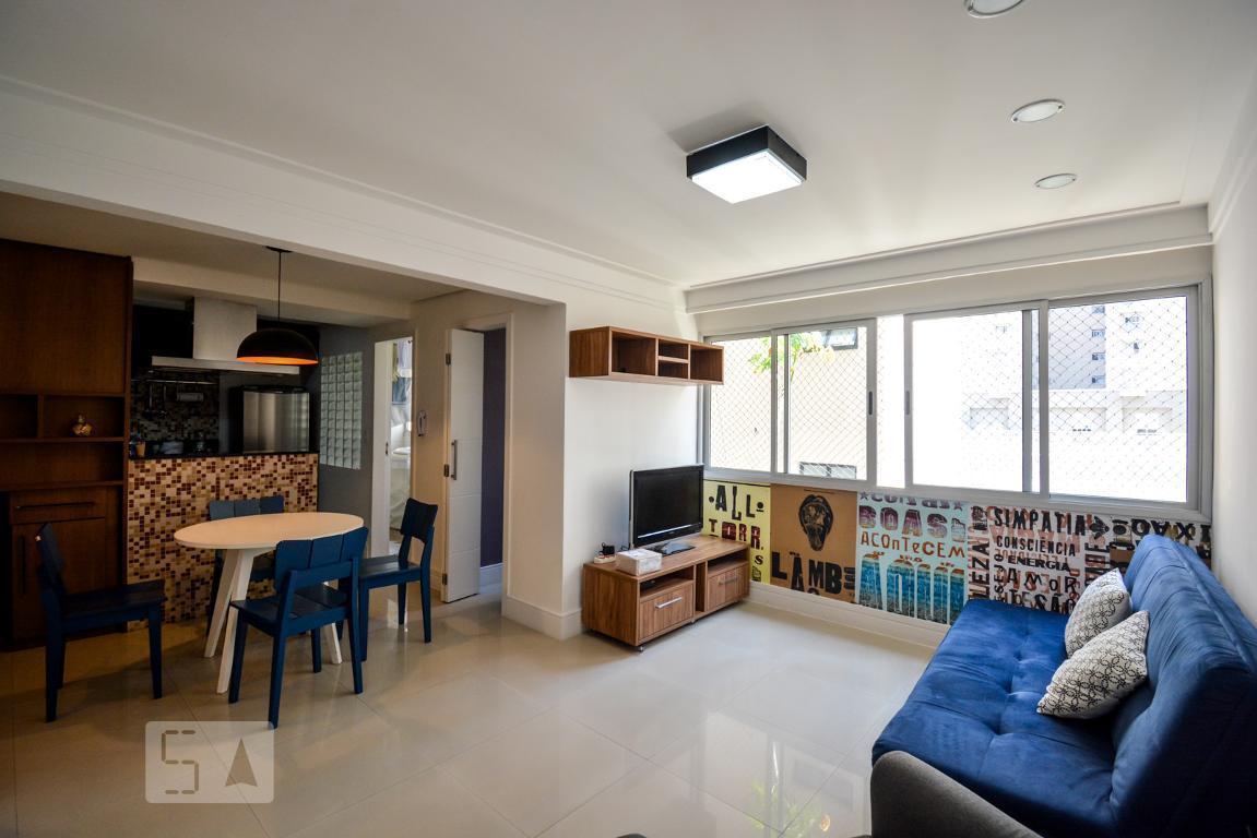 Apartamento para Aluguel - Paraíso, 2 Quartos,  70 m² - São Paulo