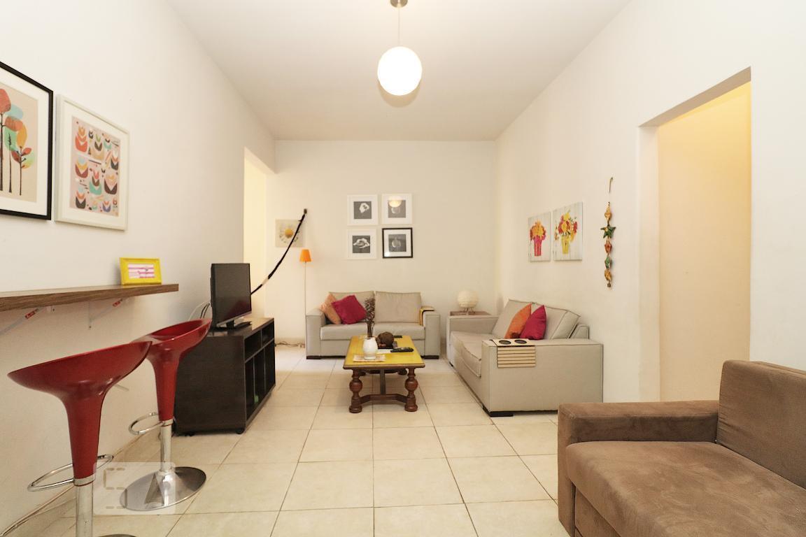 Apartamento para Aluguel - Copacabana, 1 Quarto,  50 m² - Rio de Janeiro