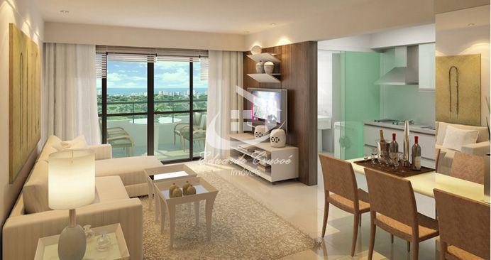 Apartamento, Venda, 84 metros quadrados, 2 quartos, Tribeca, Paralela, Salvador, Vista Mar.
