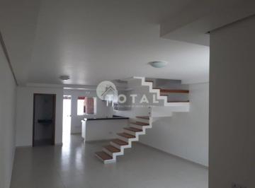 Lindo sobrado em condomínio fechado no Parque São Vicente com 3 dormitórios, 1 suíte e 2 vagas de garagem