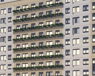 Apartamento · 33m² · 2 Quartos · 1 Vaga