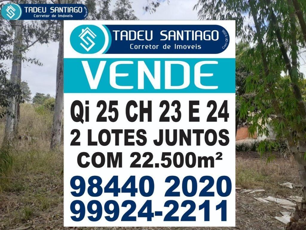 SHIS QI 25 - CHÁCARA INTEIRA, COM 11.250M² - VISITE AGORA!