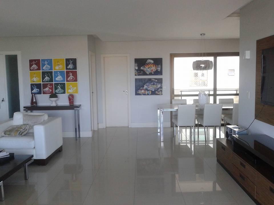 Le Parc - Apartamento à Venda com 4 Suítes, 217m², Nascente, Finamente Decorado