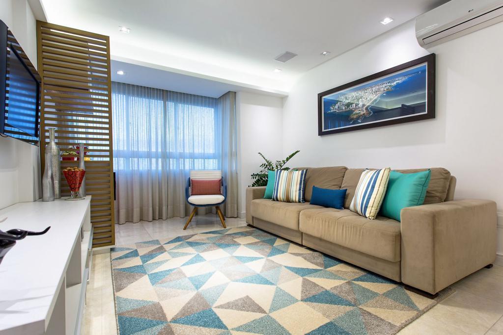 Apartamento em Patamares, 73m², 3/4 sendo 1 suite, Nascente Vista Mar