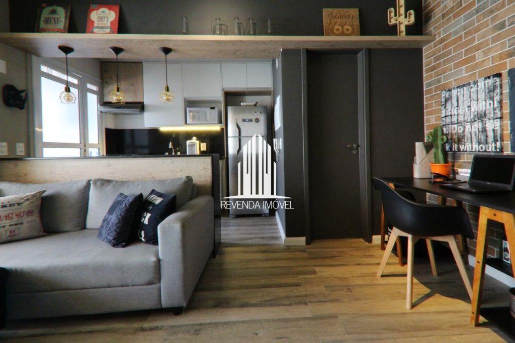Apartamento á venda com 50m² 1 dormitório e 1 vaga ao lado da estação do monotrilho