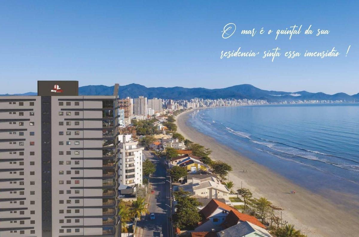 60X empreendimento alto padrão na Praia do Pereque, apartamentos amplos 4 suítes