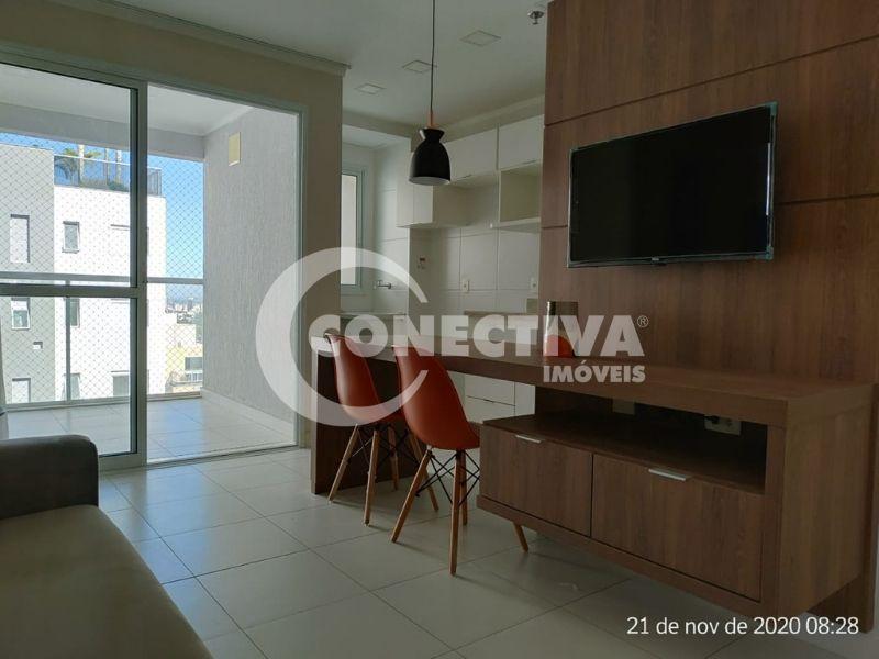 Flat mobiliado com 51,52m² para locação no Jardim Goiás em Goiânia / GO