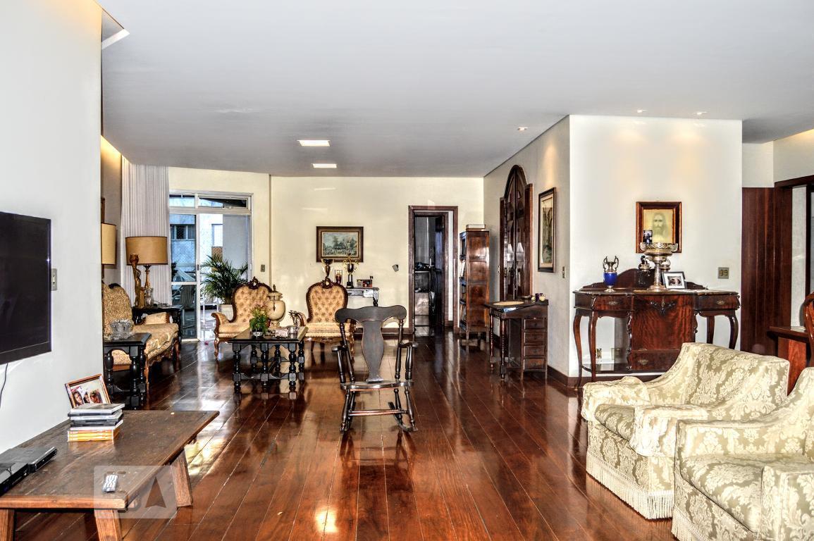 Apartamento para Aluguel - Luxemburgo, 4 Quartos,  250 m² - Belo Horizonte