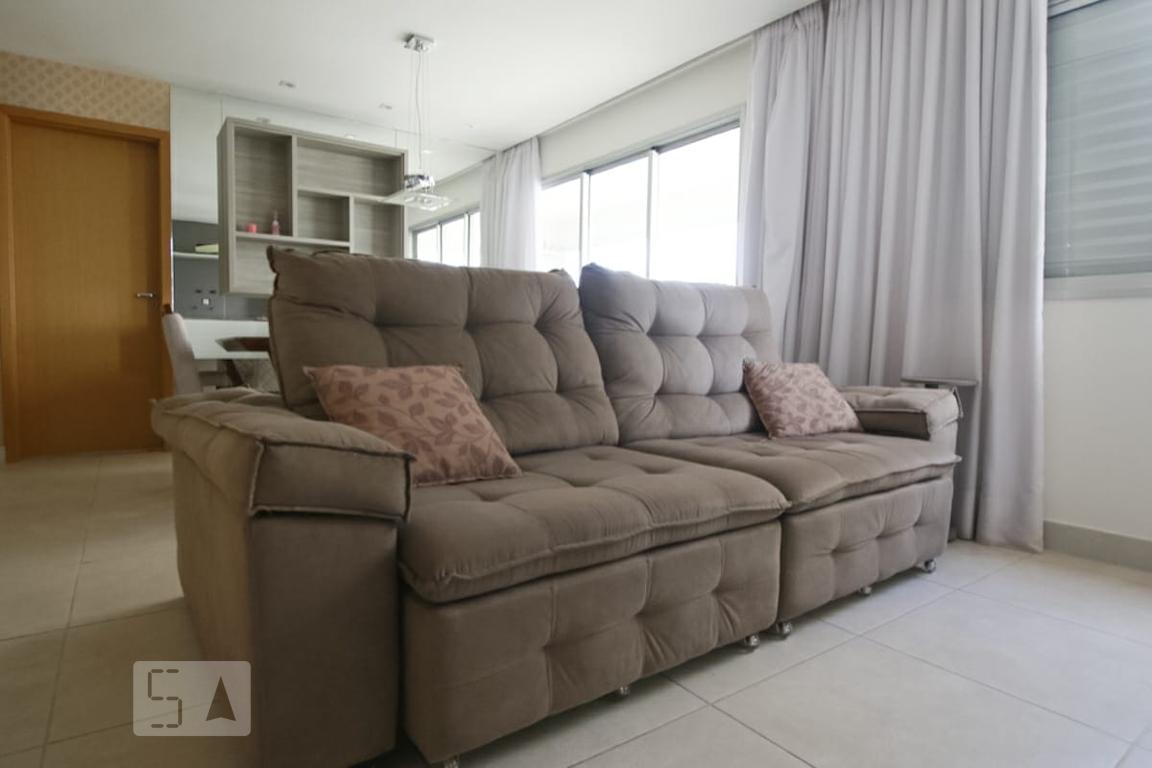 Apartamento para Aluguel - Jardim Goiás, 3 Quartos,  108 m² - Goiânia