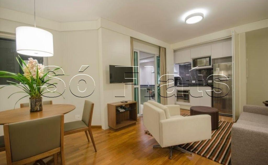 Lindo apartamento na Vila Olímpia, ótima localização. Com entrada imediata e sem fiador.