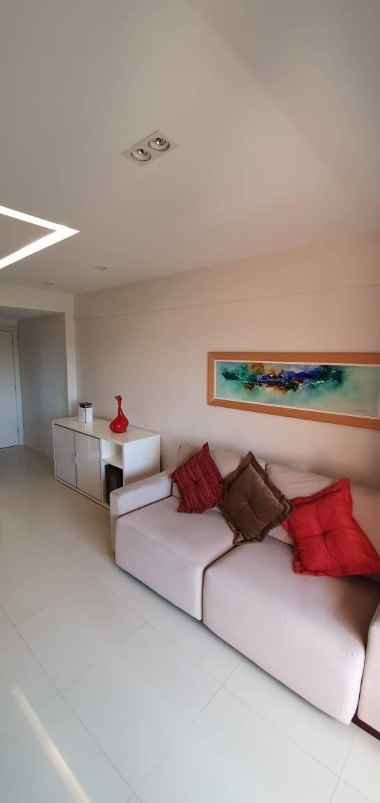 Oportunidade 2/4 suítes I Brisas Residencial I Decorado I 79 m² I 02 vagas