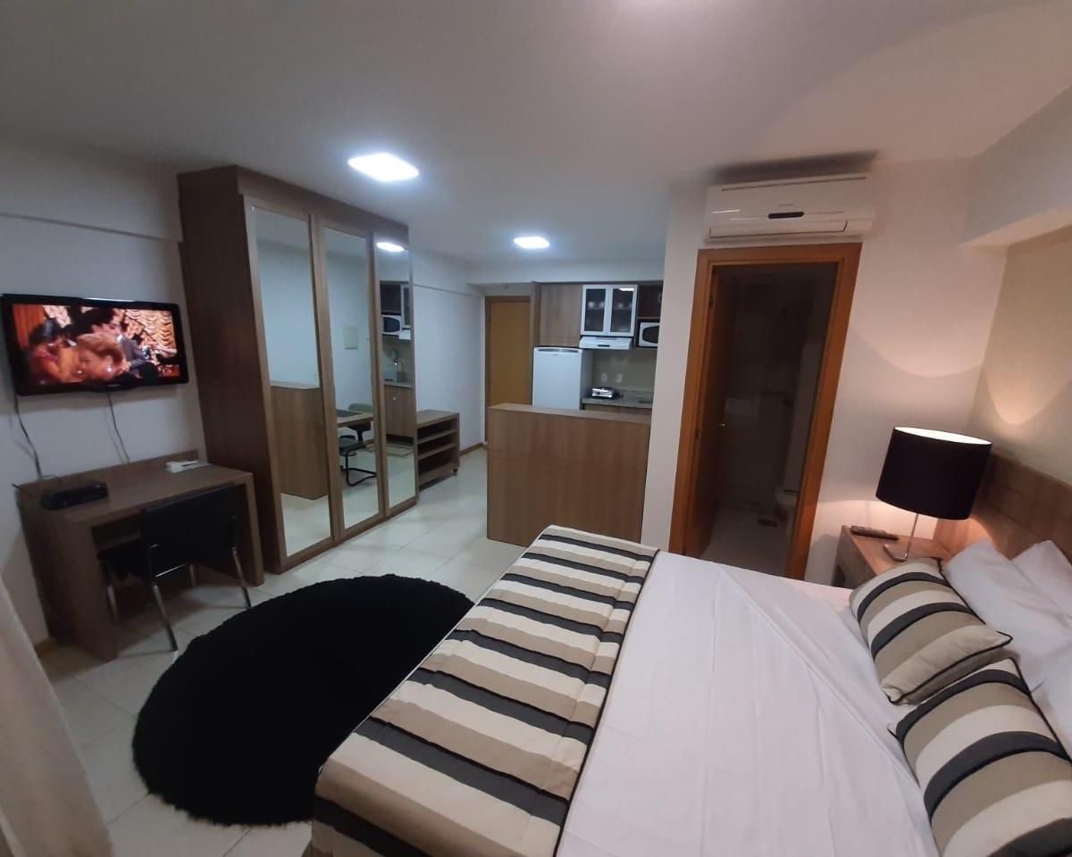 FLAT C/ VARANDA TUDO INCLUSO  HOTEL SAINT MORITZ