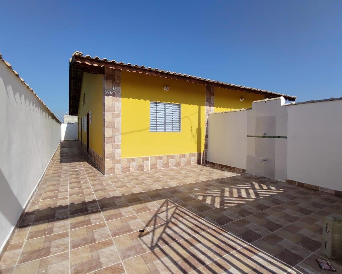 Casa Nova em Mongaguá, Plano Casa Verde e Amarela / Minha Casa Minha Vida.