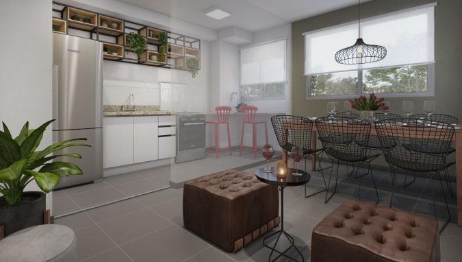 Apartamento em Lauzane Paulista - Águas Claras