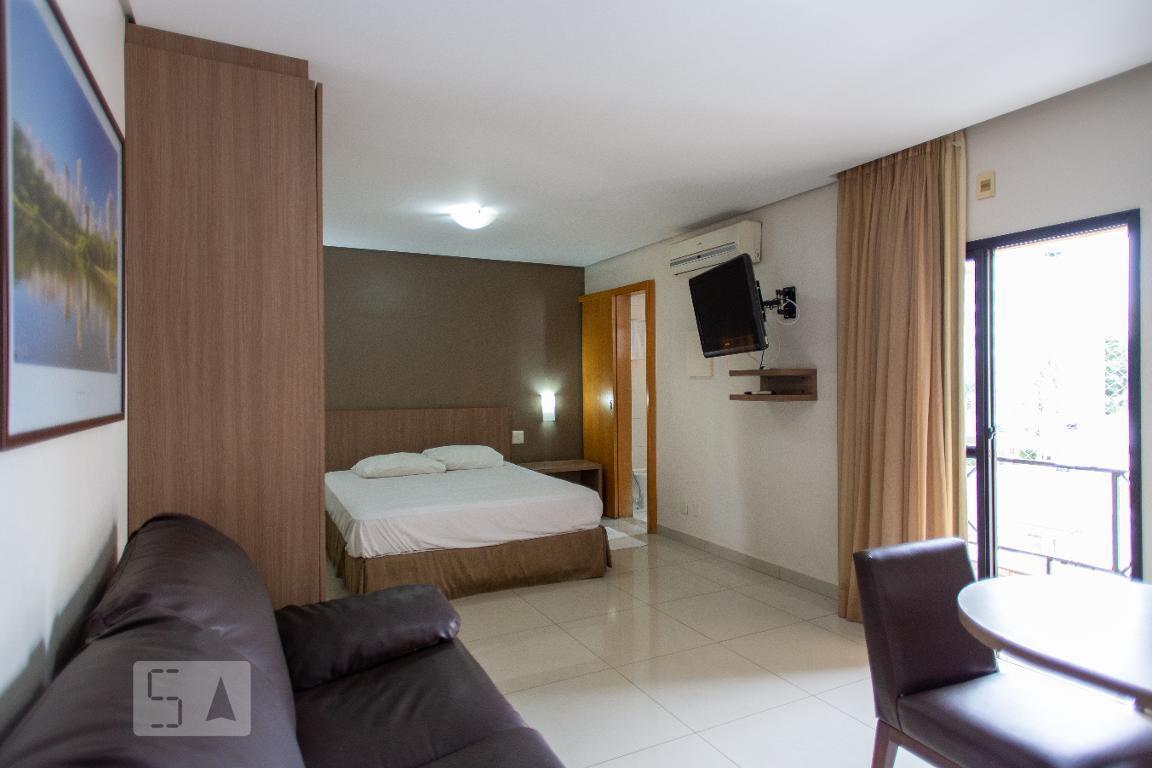 Apartamento para Aluguel - Setor Pedro Ludovico, 1 Quarto,  33 m² - Goiânia
