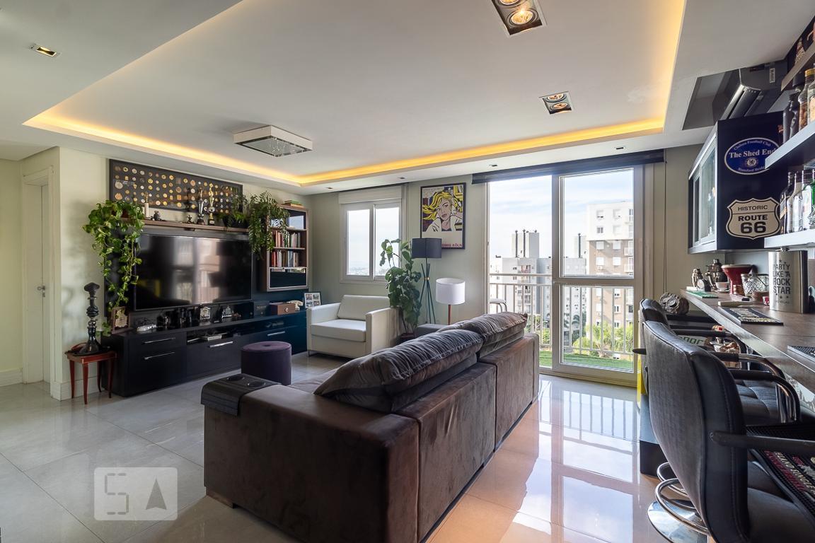 Apartamento para Aluguel - Jardim Itu-Sabará, 2 Quartos,  73 m² - Porto Alegre