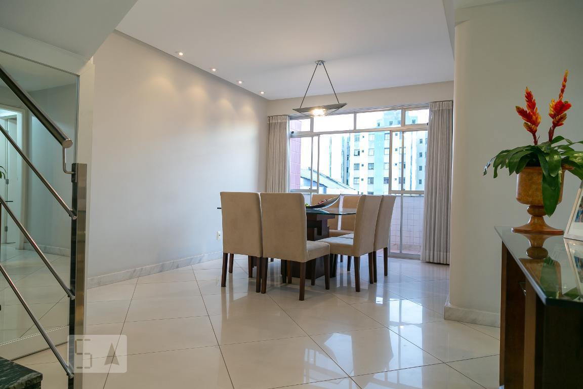 Apartamento para Aluguel - Ipiranga, 4 Quartos,  270 m² - Belo Horizonte