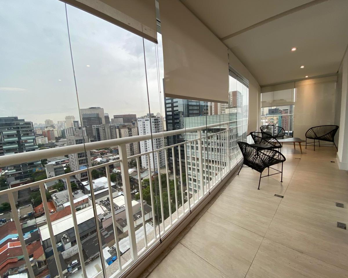 apartamento locação jk horizonte no Itaim  80m² mobiliado 2 vagas