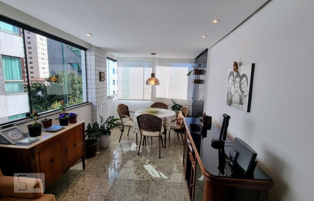 Apartamento para Aluguel - Sion, 3 Quartos,  103 m² - Belo Horizonte