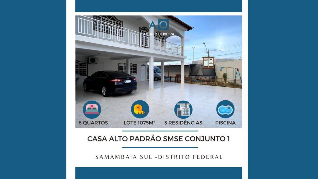 Casa à venda - em Samambaia Sul