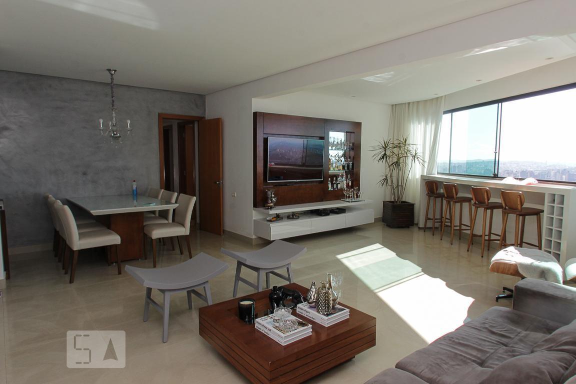 Apartamento para Aluguel - São Lucas, 3 Quartos,  120 m² - Belo Horizonte