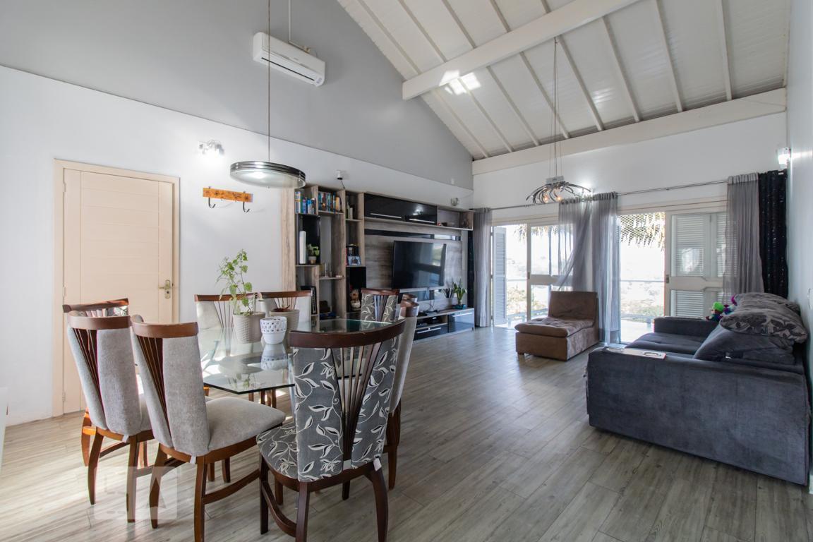 Casa para Aluguel - Vila Nova, 3 Quartos,  140 m² - Novo Hamburgo