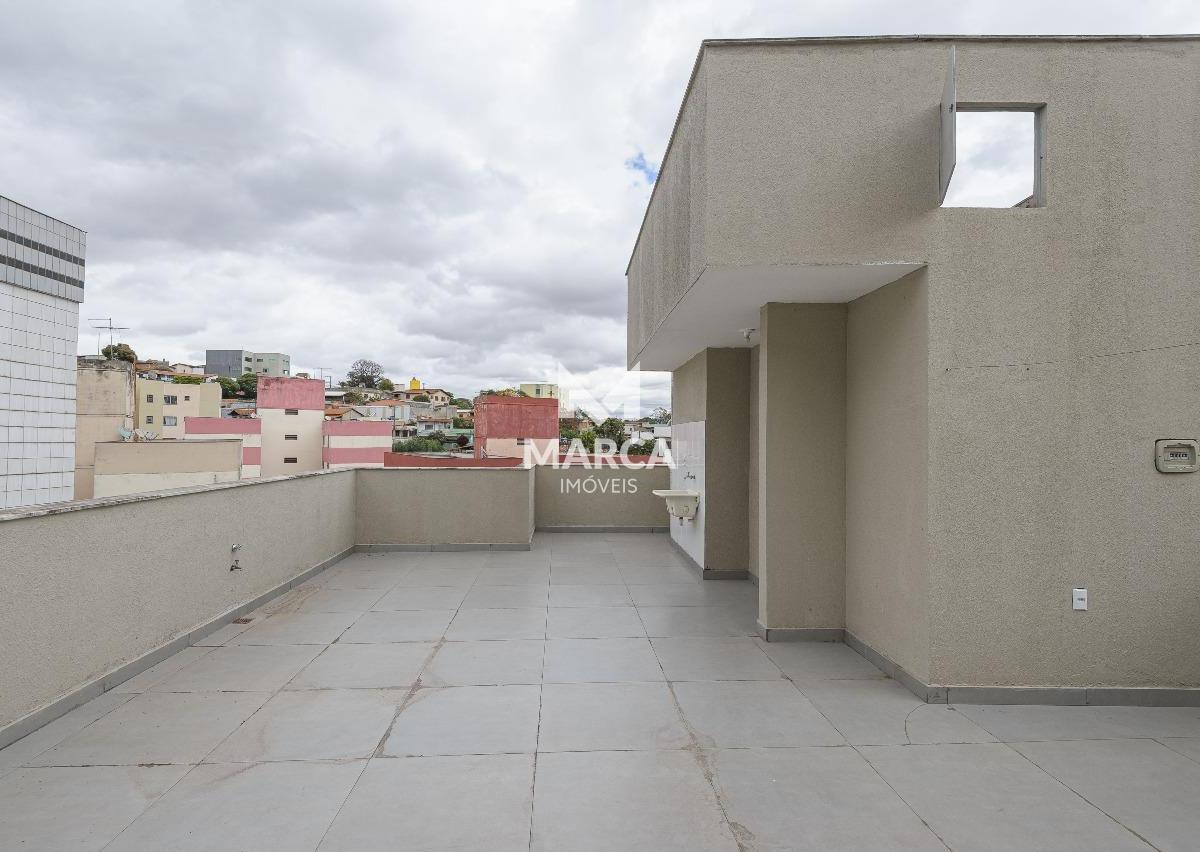 Cobertura para aluguel, 3 quartos, 1 suíte, 1 vaga, CaiçaraAdelaide - Belo Horizonte/MG