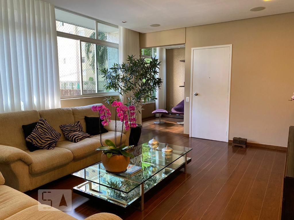 Apartamento para Aluguel - Santo Antônio, 4 Quartos,  160 m² - Belo Horizonte