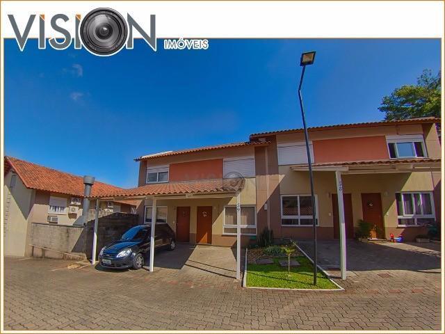 casa em condomínio para venda rondônia, novo hamburgo 2 dormitórios, living com 2 ambientes, banheir