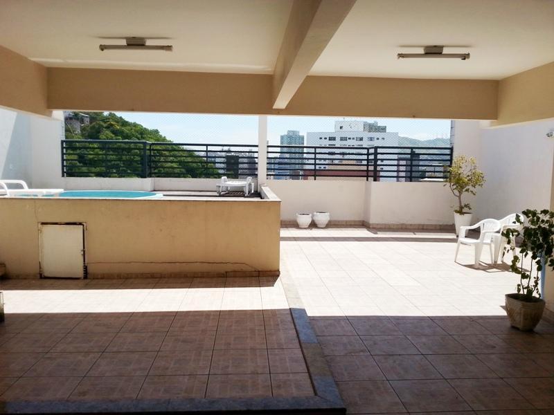 praia sta helena, 2 quartos suíte, elevador, lazer completo na cobertura r 310 mil