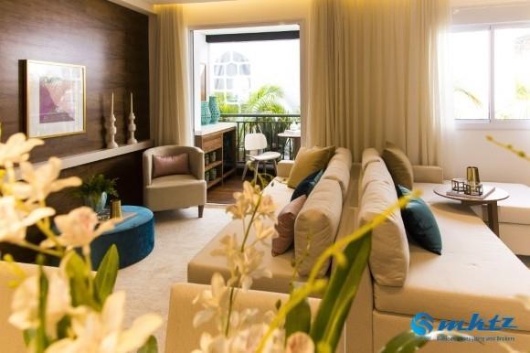apartamento novo - 2 quartos - 50 m - butanta