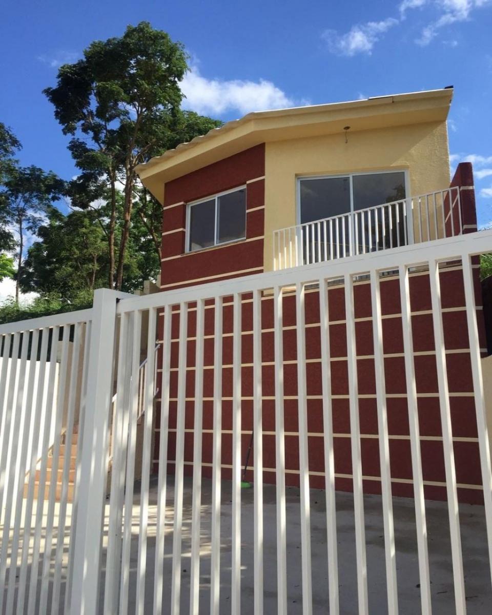 casa padrão, 2 dormitório s , 1 banheiro s , 2 garagem ns , 177,90 churrasqueira. amplo quint