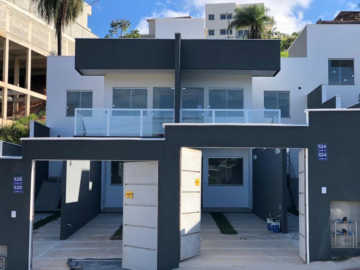 casa com 02 vagas acabamento alto padrão - bairro nacional