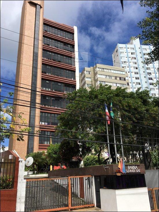 apartamento flat para venda na barra em salvador - ba