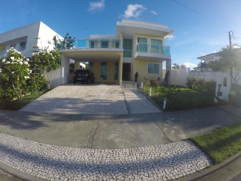 casa alto padrão à venda - alphaville litoral norte i