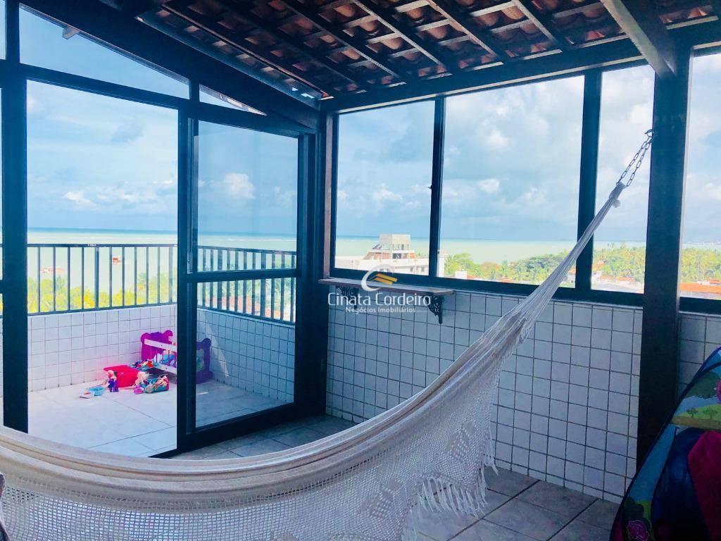 cobertura residencial à venda, amazônia park, cabedelo.