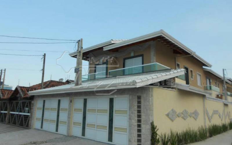 casa de 150 m no bairro vila mirim na cidade de praia grande - sp. com 2 dormitório s , sendo 1 su