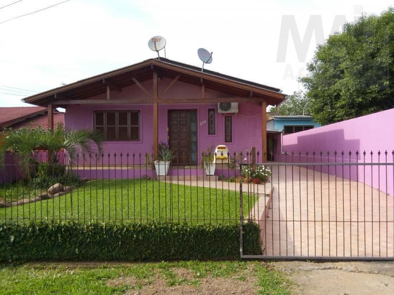 casa para venda em taquara, tucanos, 2 dormitórios, 2 banheiros, 3 vagas