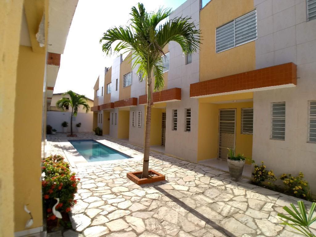 apartamento duplex residencial à venda, poço, cabedelo.