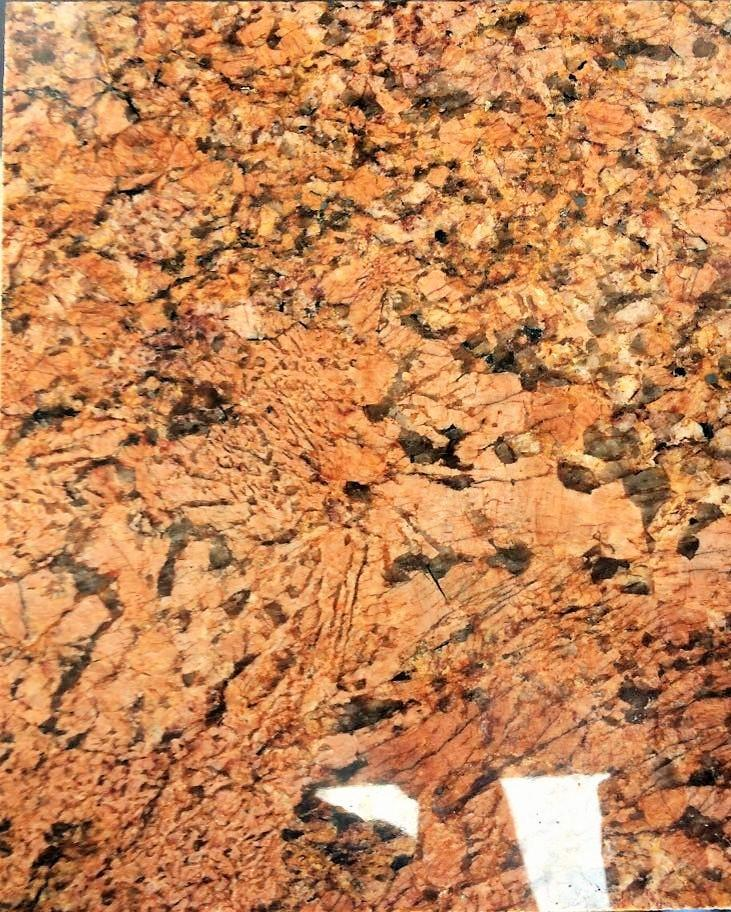 excelente área de granito vermelho