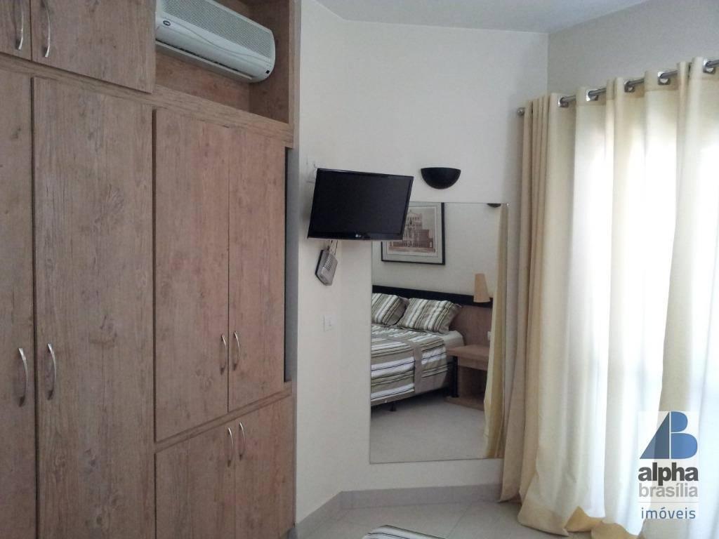 flat mobiliado - setor hoteleiro sul - bonaparte hotel